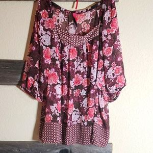 Pure Energy Floral Cover-Up 3x